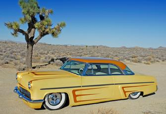 "1953 Mercury ""GONE BANANAS"" Painted by Gene Winfield"